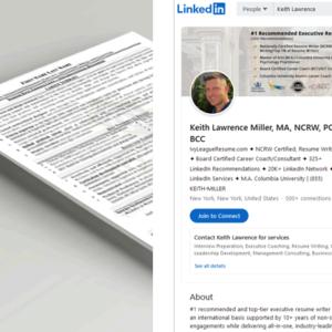 Keith Lawrence's LinkedIn Profile