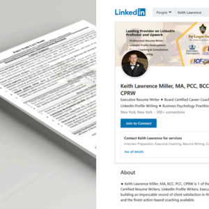 Resume, Cover Letter & Linkedin Optimization Package