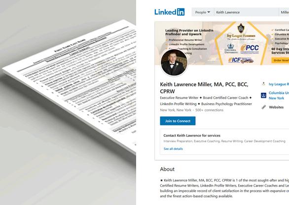 Resume, Cover Letter & Linkedin Optimization Package